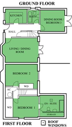En Suite Bathroom 356m X 240m 118 711 Bedroom Two 473m 362m Inc Wardrobes 156 1110